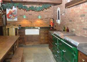 South Downs Oak Kitchen